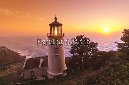 heceta, head, lighthouse, devil's, elbow, state, park, costa - 27707548