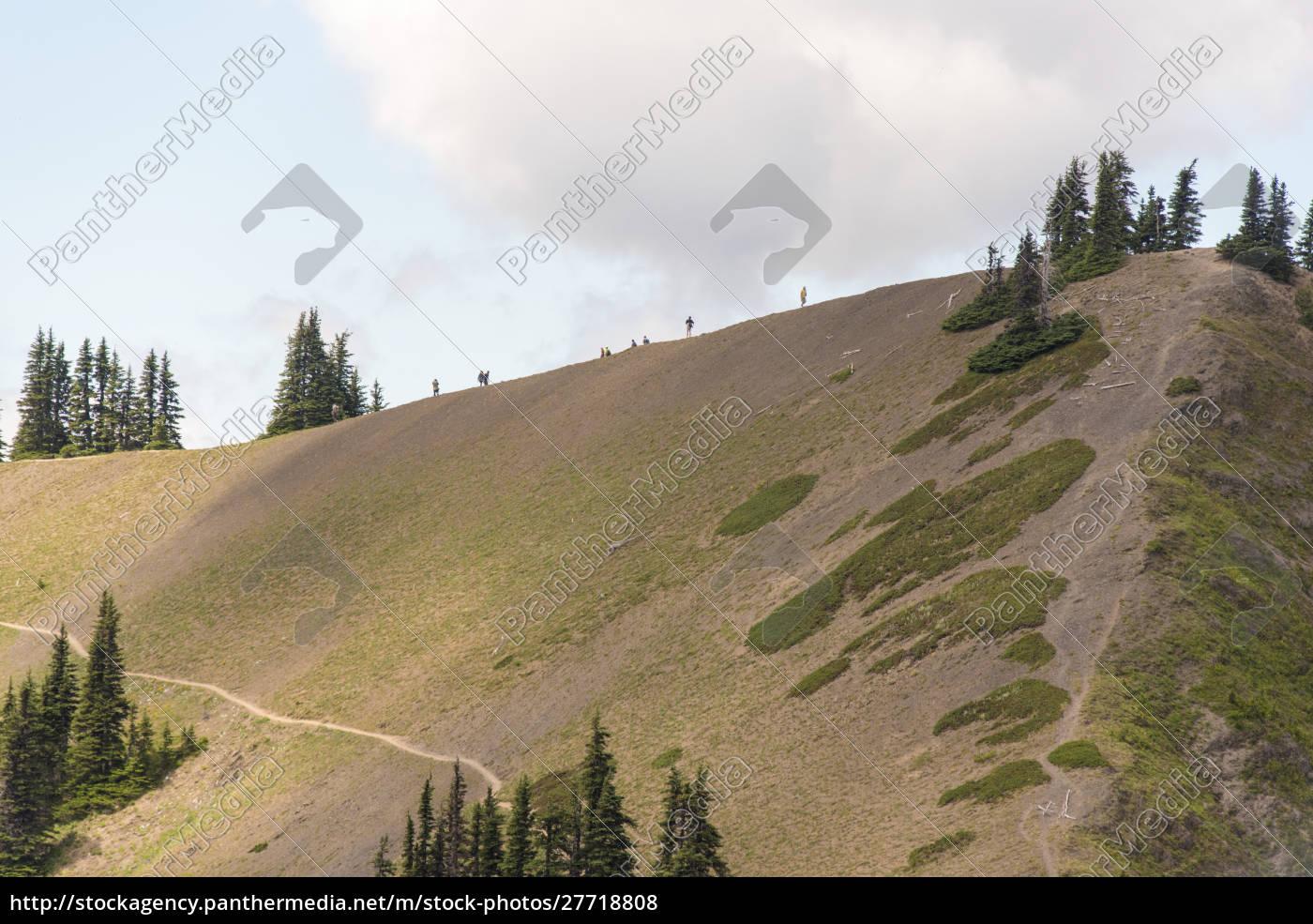 estados, unidos, estado, de, washington, hikers, del, parque - 27718808