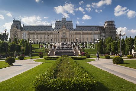 rumania moldavia iasi palacio de la
