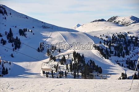 esquí, ensouthern, tirol - 28117236