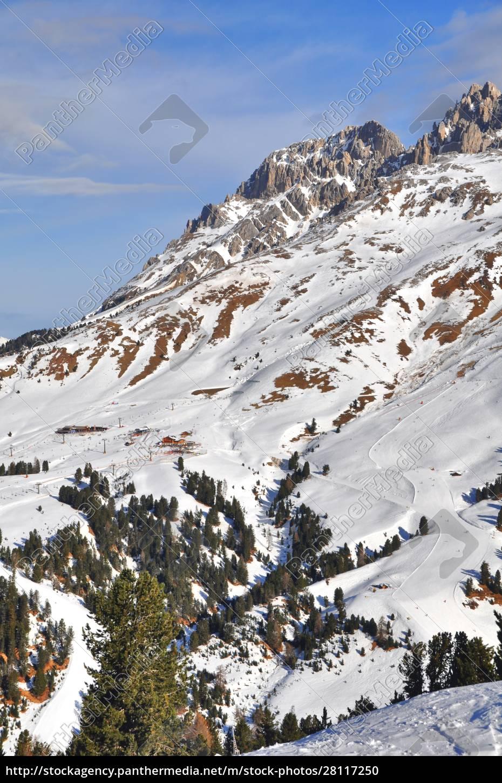 esquí, ensouthern, tirol - 28117250