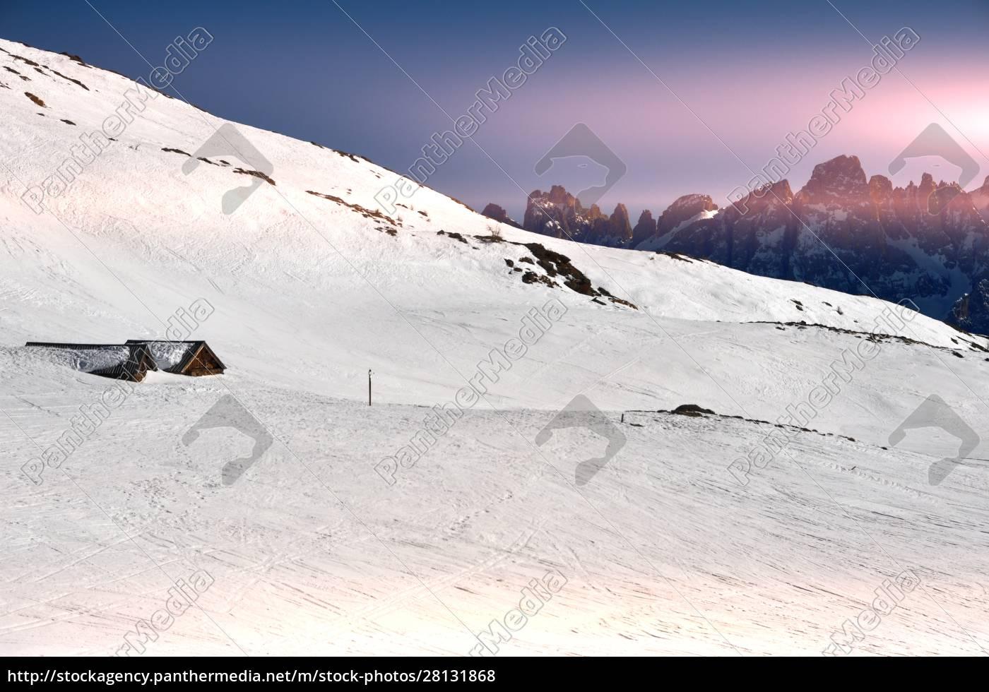 esquí, ensouthern, tirol - 28131868