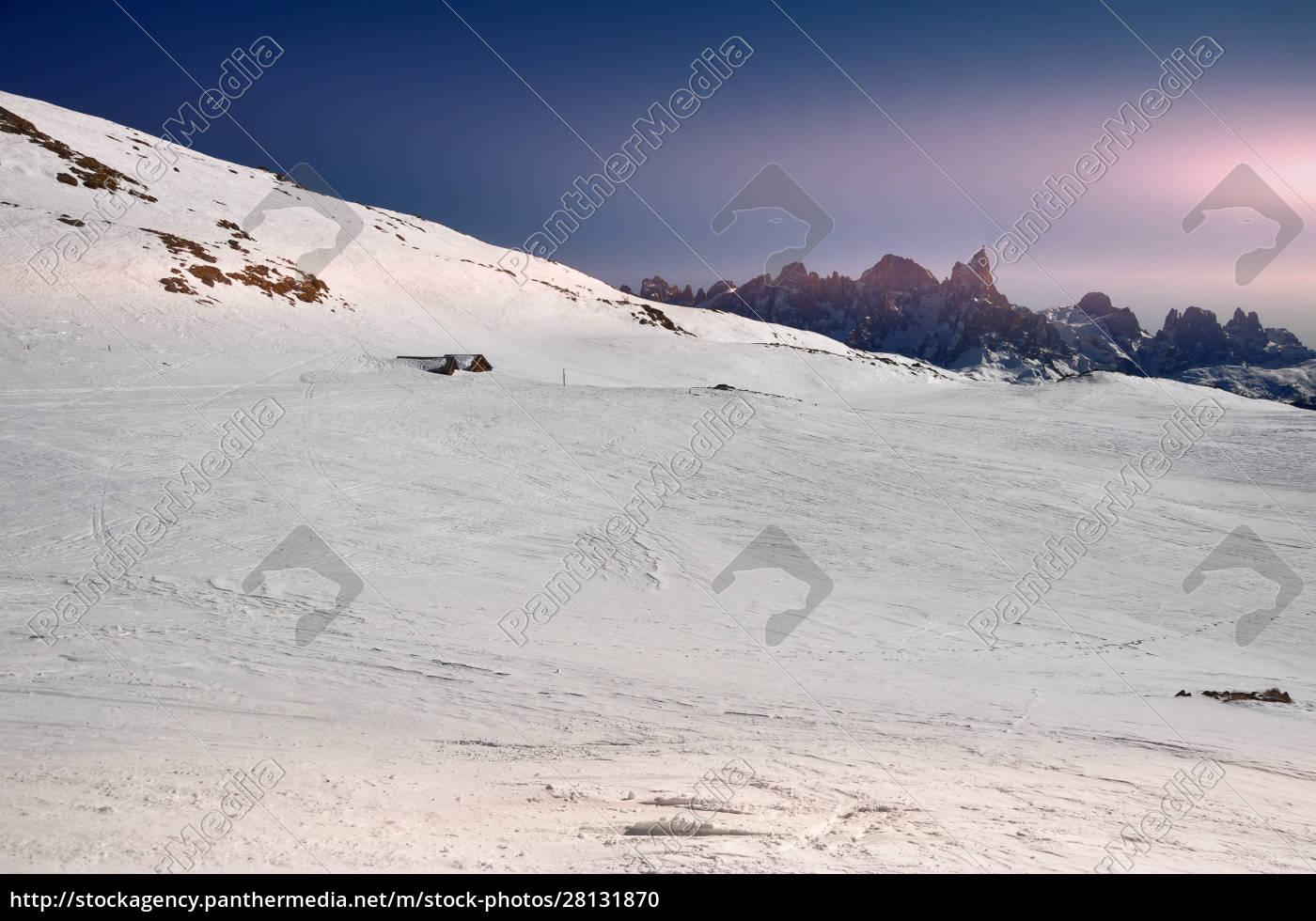 esquí, ensouthern, tirol - 28131870