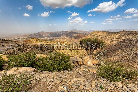 paisaje etiope etiopia africa