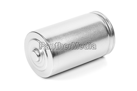 lr20 d size battery on white