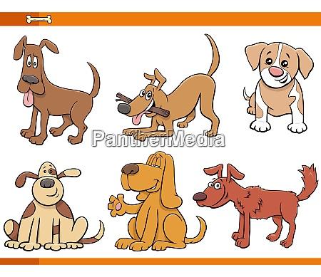 perros y cachorros comicos personajes animales