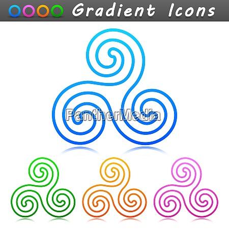 vector ornament symbol icon design