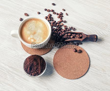 delicioso cafe fresco
