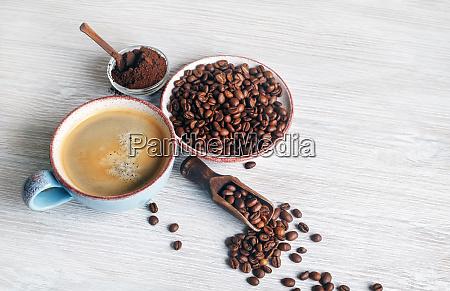 taza de sabroso cafe