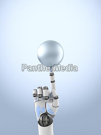 render tridimensional de la esfera de