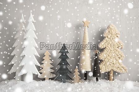 Arboles de navidad nieve fondo de