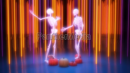 disco nightclub fondo de halloween