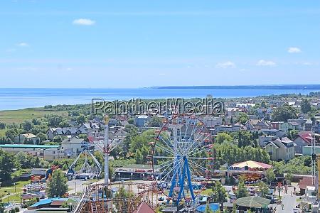panorama, of, resort, polish, town, with - 29115144