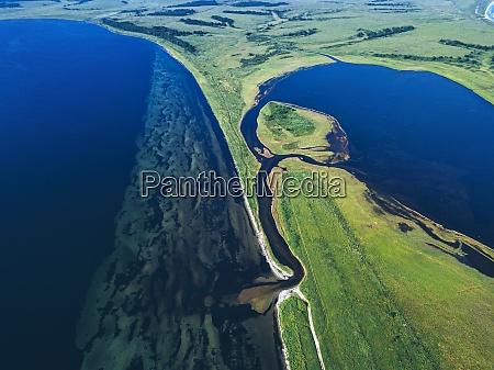 vista aerea de la bahia de