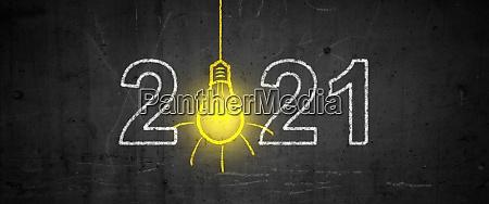 feliz anyo nuevo comienza en 2021