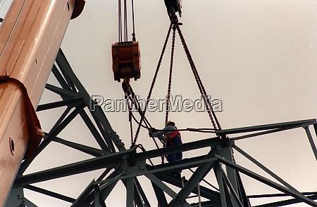 grúa, de, construcción, en, la, industria - 29243963
