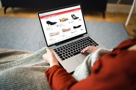 compras de zapatos de comercio electronico
