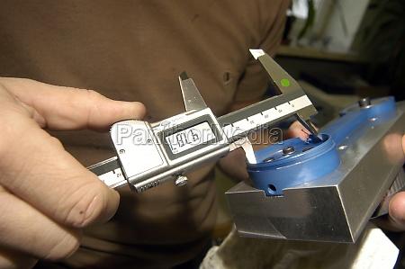calibrador para medicion mecanica