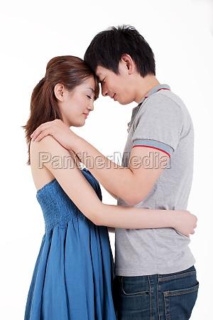 vida feliz entre dos jovenes amantes