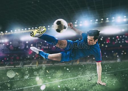 escena, de, fútbol, en, el, partido - 29899020
