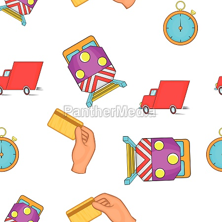 shipment, pattern, , cartoon, style - 30146235