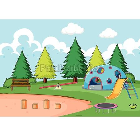 playground, equipment, in, park - 30363862