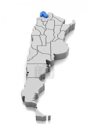 Aislado, forma, Alivio, país, mapa, cartografía - B165287842