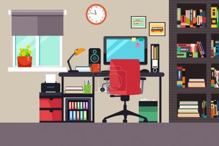 cuadro, vector, Ordenador, ilustración, espacio, negocios - B127229264