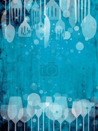 Bar., Pub, Entretenimiento, Azul., Contexto, Colorido - B12097138