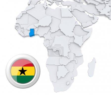 Contexto, bandera, mapa, África, Argelia, Egipto - B28739227