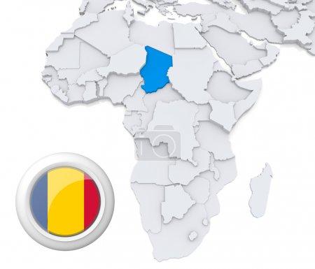 Contexto, bandera, mapa, África, Argelia, Egipto - B28740349