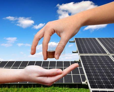 Dinero, Mantenimiento, Medio ambiente, Energía, solar, consumo - B51331129
