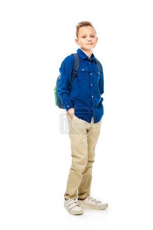Azul, persona, gente, Lindo, Caucásica, niño - B232616982