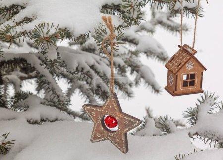 azul antecedentes navidad vacaciones vacia metal