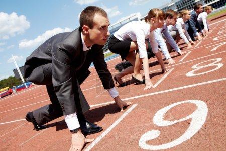 deporte, competencia, competitivo, competir, negocios, persona - B11309829