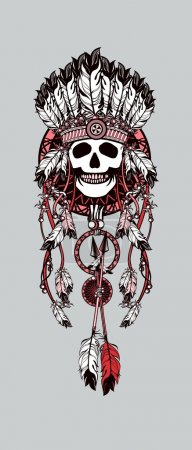 vector, diseño, arte, ropa, origen étnico, cabeza - B94513476